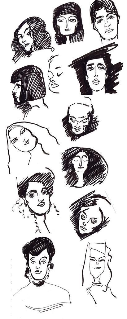 lady heads