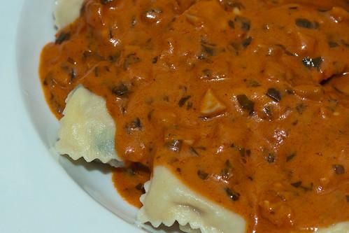 Scratch Made Veal Raviolis