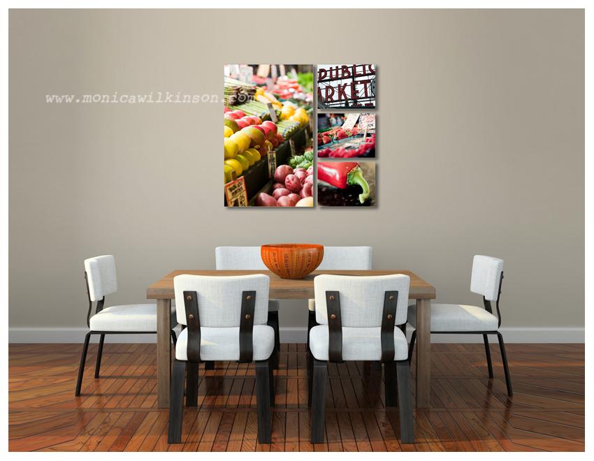 dining room canvas blog