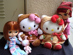 """Baldy loves the new """"Blythes"""""""