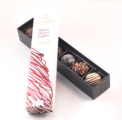 Godiva Bakery Dessert Truffles Collection Box