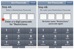 Step 4: Enter a passcode