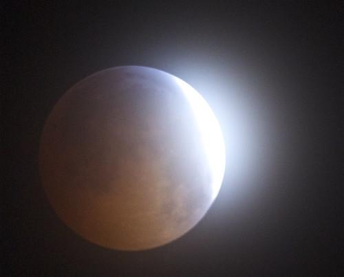 eclipse flare decemeber 21 2010