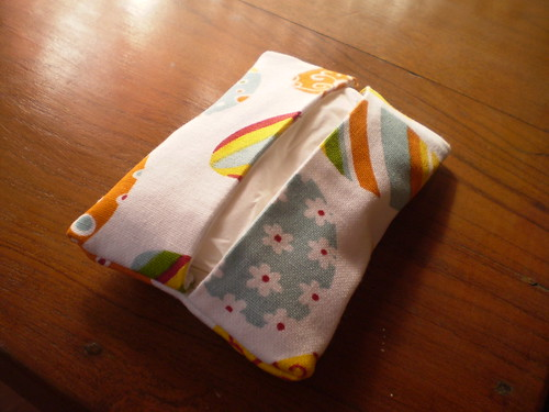 A tissue Holder for the winter!!! For my etsy shop