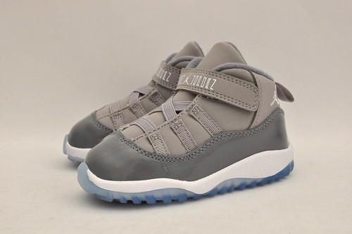 Jordan Retro 11 Cool Grey Toddlers