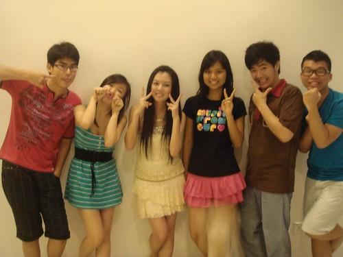 Chern Jung,Lily,Chee Li Kee,Carmen,Chin Ming and Wen Jie