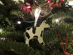 Cow Ornament by Steve Clancy, on Flickr