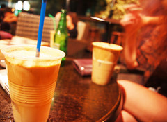 Cypriot frappe. (rae.joanna) Tags: summer coffee youth europe relaxing cyprus frappe