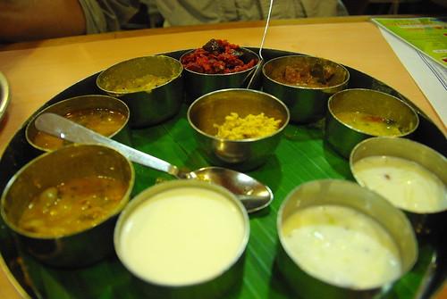 Indian Thali platter