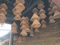 Incense Stick Cones at Temple