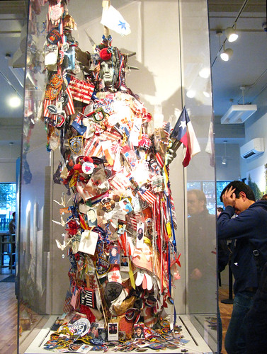 Grieving at 911 Memorial Centre, NYC