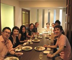 Teruko birthday dinner (tengds) Tags: birthday family dinner bangkok japaneserestaurant tengds japaneseinlaws