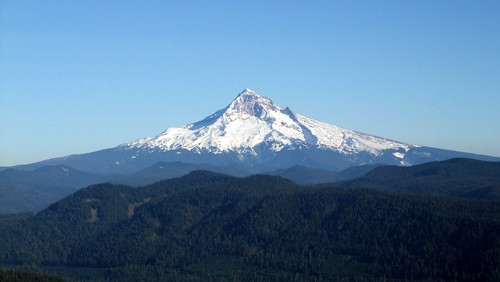 mount hood from sherrard point
