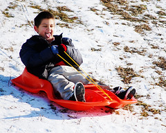 aDSC_0050 (PunchPinkPhotography) Tags: winter ohio snow playing kids sledding kettering