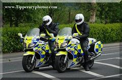 Garda Escort for the 2010 FBD Ras leaving Carrick on Suir (Jonathan Ryan - Tipperaryphotos.com) Tags: garda bikes motorcyles gardai