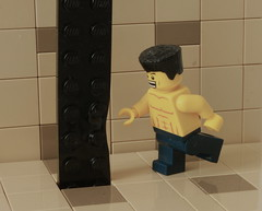 Strength (Louis K.) Tags: hit lego martial ninja arts tan strength piece melted uber deformed