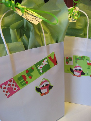 Walking Buddy gift bags