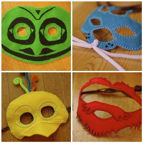 2011 Masks