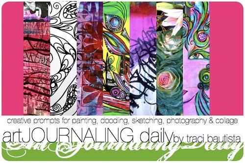 artJOURNALING daily blog banner