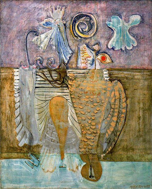 Mark Rothko, Hierarchical Birds,1944
