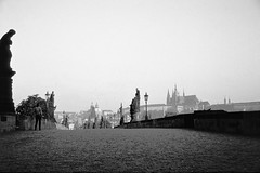 1977 Charles Bridge (beranekp) Tags: old bridge castle statue czech prague alt religion iglesia prag charles praha chiesa most igreja brcke glise hrad burg karlv