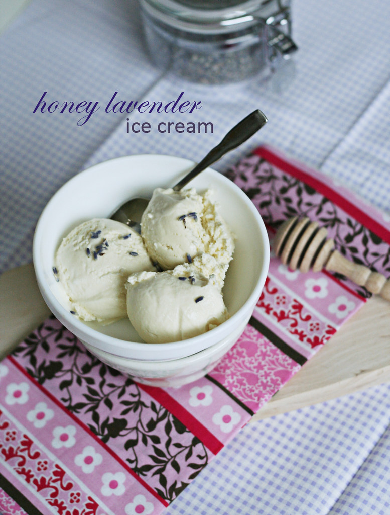Honey lavender ice cream | savory-bites