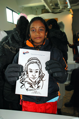 Caricature live sketching for Snow City Winter Wonderland Activities- Day 4 - 4