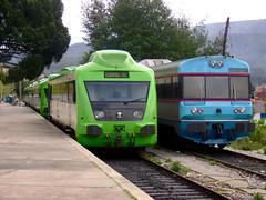 Várias allans e uma UDD em Seprins, Abril 2008 (Nelso M. Silva) Tags: parque allan 350 cp coimbra regional comboio ramal lousão