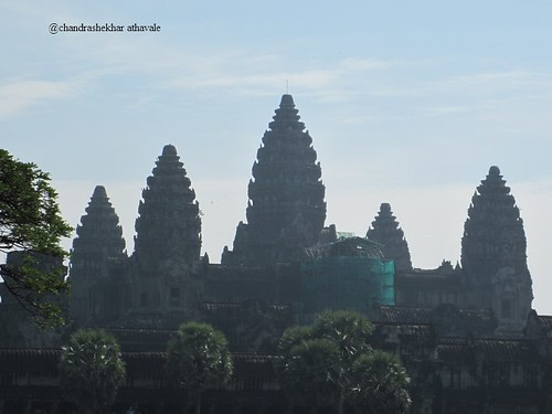 five towers of angkor
