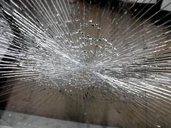 butterfly star (dmixo6) Tags: urban toronto window glass lines convergence shatter dugg dmixo6