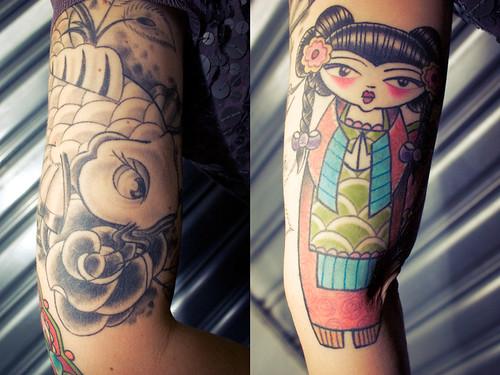 Manga tattoo