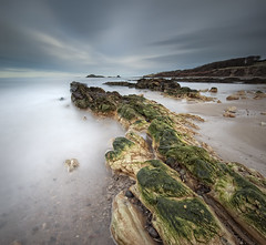 Yellowcraigs Big Stopper (Graham Stirling) Tags: sea sky seascape rocks long exposure stirling forth graham d3 firth eastlothain