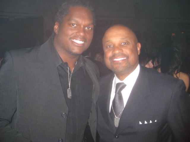 Football Great LAVAR ARRINGTON and Willie Jolley
