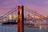 City Lights, Thread the Needle #1 (PatrickSmithPhotography) Tags: sanfrancisco panorama skyline landscape oracle goldengatebridge coittower bankofamerica transamerica marinheadlands gigapixel yerbabuenaisland
