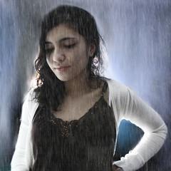 En mis ojos no ha parado de llover. / In my eyes, it hasn't stopped raining. (mar.al) Tags: smile rain lluvia eyes tears fake ojos raindrops cry man fakesmile llorar llover undertherain teleidoscope