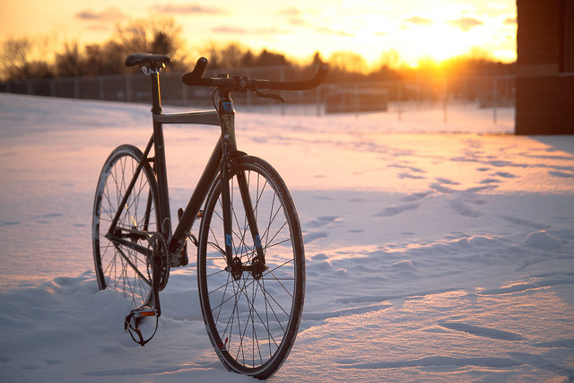 2011 Trek T1 Winter Sunset
