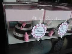 Souvenirs caja acetato cookies cake (Mily'sCupcakes) Tags: baby girl cookies cake souvenirs cupcakes y caja bautismo acetato