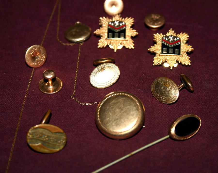 Edwardian GOLD Jewelry Lot - 01