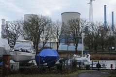 Lingen Gaskraftwerk, von Hanekenfhr gesehen (41) (Chironius) Tags: germany deutschland alemania powerplant kraftwerk allemagne industrie germania emsland lingen niedersachsen rwe gaskraftwerk   erdgaskraftwerk