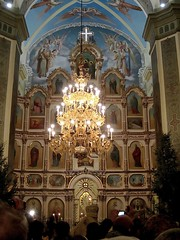 Russian Christmas, Holy Trinity Church in Saratov