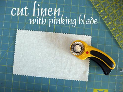 Cut Linen Patch
