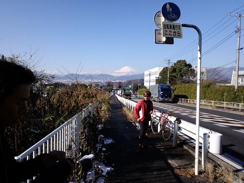 本日も富士山がくっきり