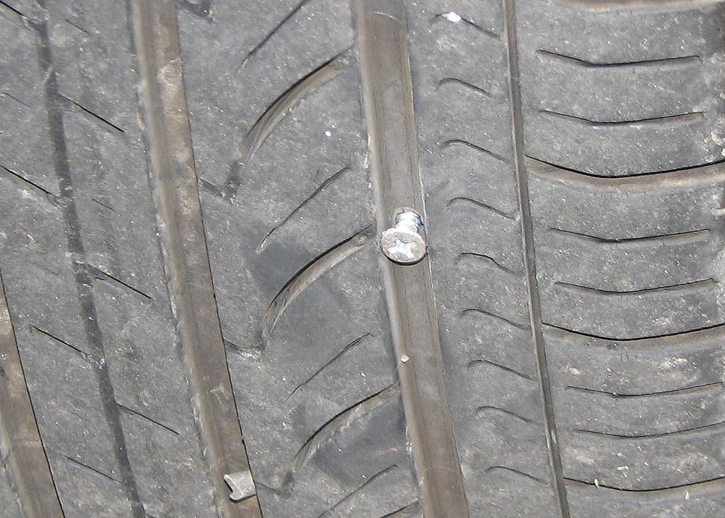 Screw in Tire - July 2009 0730b