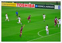 Soccer 2 ... (Bijanfotografy) Tags: qatar asiancup2011 qatarvsuzbekistan
