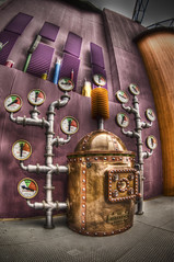 """The Bigglestep Boiler"" (Frank C. Grace (Trig Photography)) Tags: colorful pentax willywonka nh fisheye handheld storyland hdr boiler k5 photomatix flickraward"