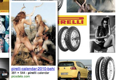 Pirelli Google Search Feature