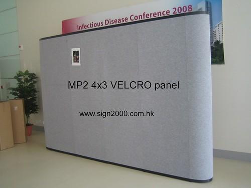VELCRO panel