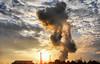 """""""AL TRAMONTO"""" (NIKOZAR (Nicola Zaratta)) Tags: sunset italy industry landscape italia tramonto samsung industria puglia hdr camini taranto acciaio industriale ilva inquinamento acciaieria altoforno italsider fumaioli metalmeccanico samsungwb500 mettallurgia"""
