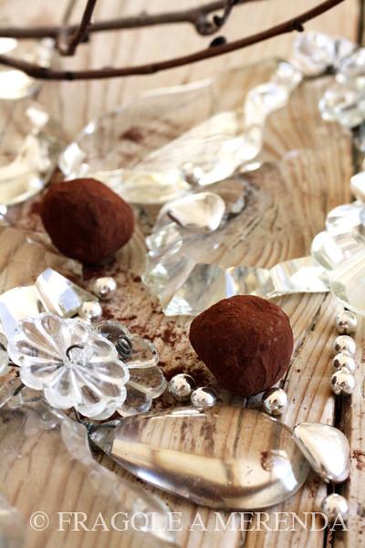 tartufi di cioccolato al peperoncino