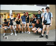 No Pants Subway Ride 2011 (Paduardo Fotografia) Tags: metro ruaaugusta caminhada nopants flashmob avpaulista 2011 semcalas paduardo borafotar pauloeduardopassos nopantssubwayride2011